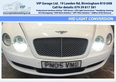 Vip Garage HID light conversion 1