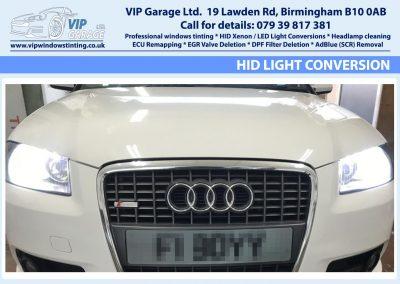 Vip Garage HID light conversion 3