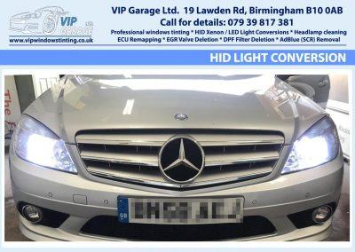 Vip Garage HID light conversion 4