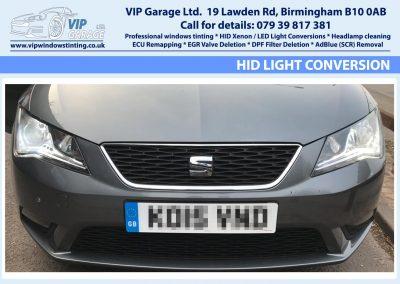 Vip Garage HID light conversion 5