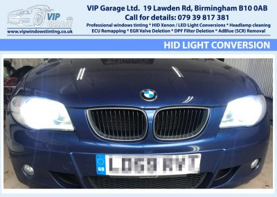 Vip Garage HID light conversion 7
