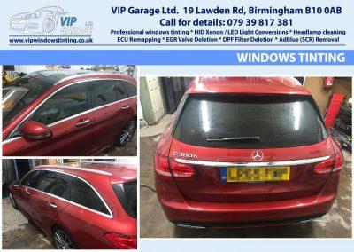 Vip Garage windows tinting 1