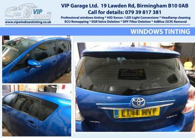 Vip Garage windows tinting 4
